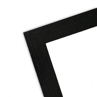 Cadre bois noir